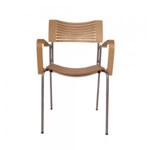 Fritz Hansen Runner Chair – Designer Stoel – Tweedehands – Hout
