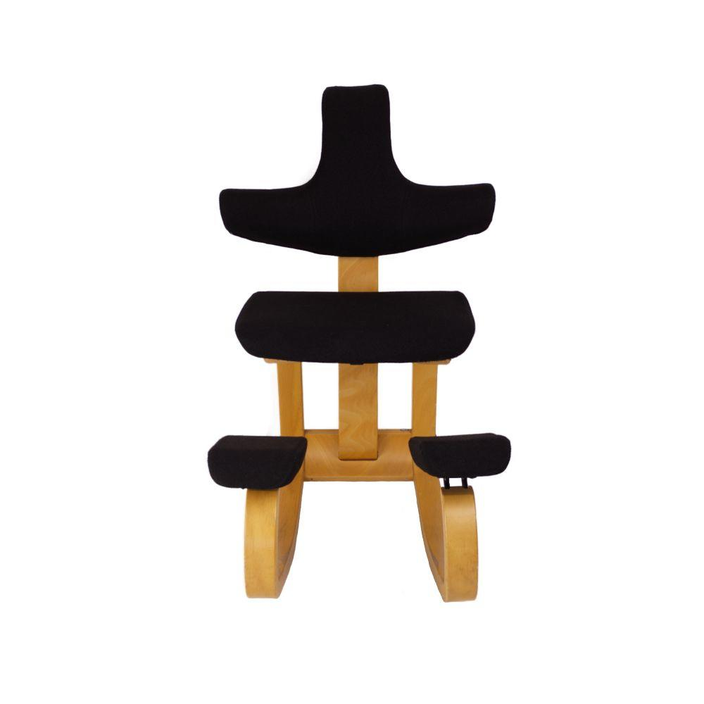 Stokke Thatsit Bureaustoel.Stokke Varier Thatsit Kniestoel Zwart Opnieuw