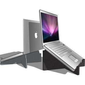 OPnieuw! – Laptopstandaard – Gerecycled PET-Vilt – Compact
