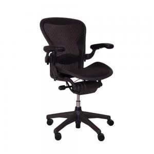 HermanMiller Aeron Type B – Secondlife – Zwart